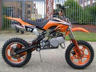Mini Midi Moto Dirt Bike   ORION 50   Big Wheel   Pocket   50cc