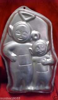 1999 Wilton Cake Pan Tinky Winky & Po Teletubbies