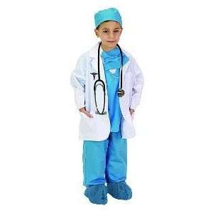 Jr Physician (Blue) Child Costume Size 6 8: Toys & Games