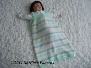 Pattern Sleeping Bag Baby Sewing Patterns For Baby