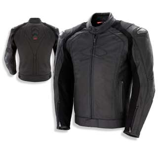 GIACCA PELLE SPYKE BLASTER AIR GP MOTO RACING