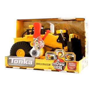 Tonka Strong Arm Mighty Bulldozer Toy Play Set New