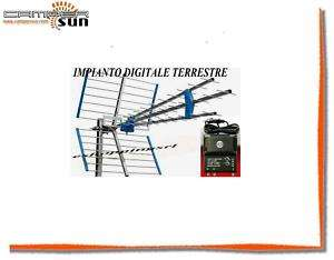 KC006 ANTENNA DIGITALE TERRESTRE TRIPLAHD AMPLIFICATORE