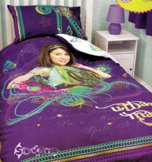 Wizards of Waverly Place Magic Single Duvet Cover Bed Set Selena Gomez