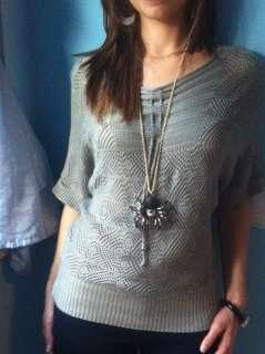 Crochet T SHIRT, Maglietta,Uncinetto, Verde Militare, TG U, Art: M004