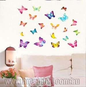 Buy 1 get 1 free Butterflies wall stickers