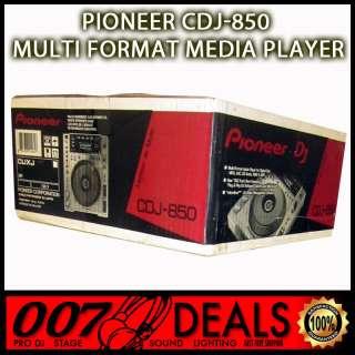 CDJ 850 MEDIA PLAYER W/ REKORDBOX SOFTWARE DJ CLUB MIXER MP3 CD CDRW