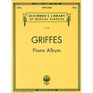 ) Piano Solo (Decade Series) (9780793529148) Charles Griffes Books