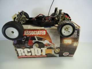 Vintage Team Associated RC10T RC Pan Stadium Truck W/ box