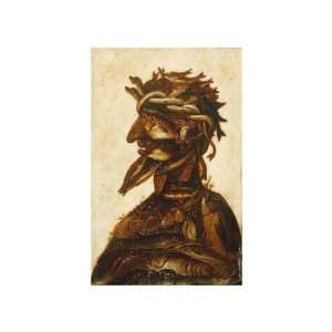 Four Elements   Water by Giuseppe Arcimboldo. size 10.5 inches width