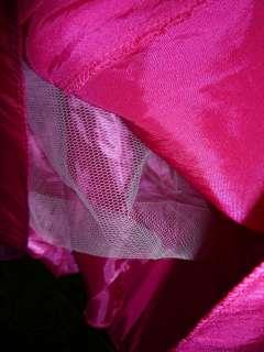 robe fille 16ans rose fuschia cérémonie mariage cortège