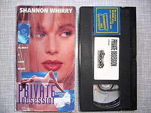 Obsession (1994) Rated Version Shannon Whirry 739163551226