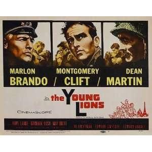 Montgomery Clift)(Dean Martin)(Hope Lange)(Barbara Rush)(Lee Van Cleef