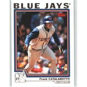 2004 Topps Baseball Card # 264 Frank Catalanotto   Toronto Blue Jays
