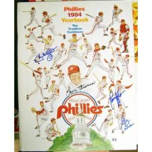 Signed by Tug McGraw, Paul Owens, Greg Gross, &: Sports Collectibles