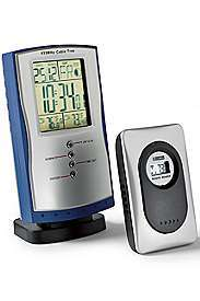Eddie Bauer   Wireless Clock/Thermometer