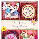 various girls party cupcake kits by plush parties