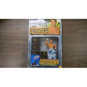 Bruisers WCW Rey Mysterio Jr Action Figure by Toy Biz