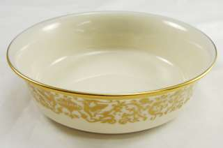 Lenox Tuscany Fine China Fruit Dessert Sauce Bowl Gold