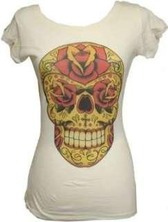 Womens Inphamus Dia by Lil Chris Sugar Skull Tattoo Scoop
