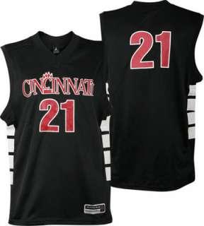Cincinnati Bearcats Black Replica Basketball Jersey by Nike