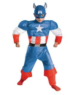 Captain America Inflatable Child Costume