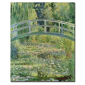 Water Lily Pond by Claude Monet 18 x 24 Canvas Art Print