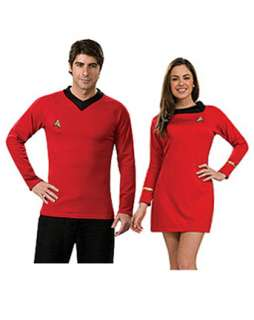 Star Trek Classic Adult Red Dress Couples Costume  Womens Couples