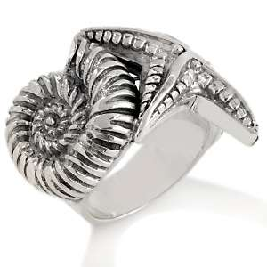 Simply Tracey by Tracey Mayer Sterling Silver Sea Star Ring