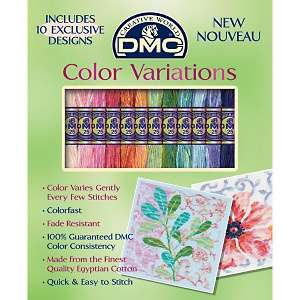 DMC Color Variations Floral Embroidery Floss Pack