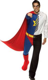 Superhero and Journalist Costume   Split Personality Costumes