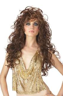 Seduction Wig   Brown   Includes brown wig. Dress not included.