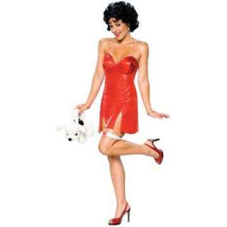 Betty Boop Deluxe Short Dress Adult Costume   Includes Dress and wig