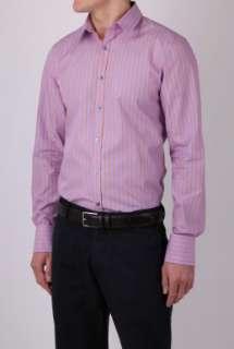 Purple Stripe Slim Shirt by PS Paul Smith   Purple   Buy Shirts Online