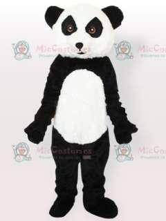 Plush Panda Adult Mascot Costume Type C  Panda Adult Mascot