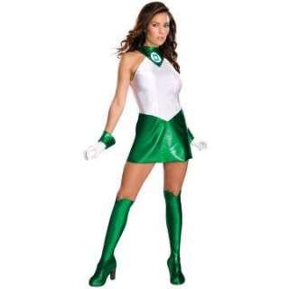 Secret Wishes   Green Lantern Adult Costume   Includes Dress, Gloves