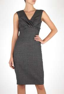 Paul Smith Black  Contrast Dog Tooth & Prince Of Wales Dress by Paul