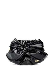 Vivienne Westwood Accessories  Black Bow Cross Body Bag by Vivienne
