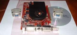 Driver CD + 2 DVI to VGA Adapters