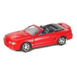 1998 Ford Mustang Cobra 1/24 Red Toys & Games