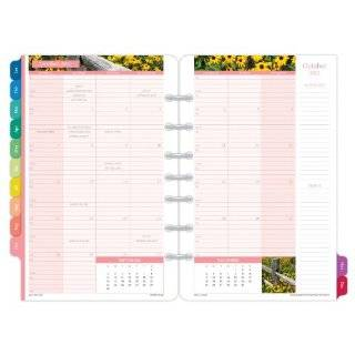 Day Timer Coastlines 2 Page Per Month Calendar Refill