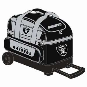 NFL Double Roller Bowling Bag  Oakland Raiders  Sports