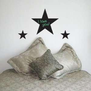 STARS Chalkboard Vinyl Wall Sticker Set