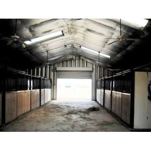 Duro Steel A32x48x18 Metal Building Equestrian Horse hay barn tac room