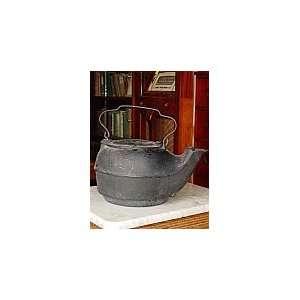 Antique No 8 Cast Iron Kettle