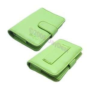 Kroo Struct Leather Carrying Case for Apple iPod nano Electronics