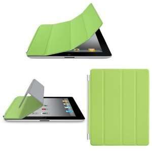 Magnetic Smart Cover Case Green for Apple The New iPad 2 iPad2 Ipad