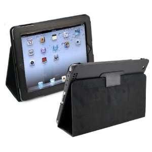 Apple Ipad 3 New IPAD3 HD Black Smart Cover Leather Folio