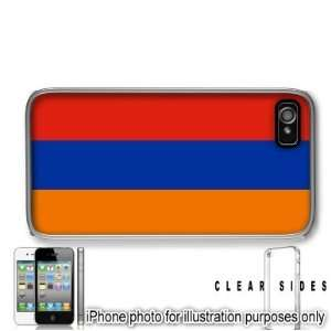 Armenia Flag Apple iPhone 4 4S Case Cover Skin Clear on