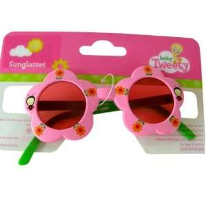 Baby Tweety kid size flower shaped sunglasses Toys